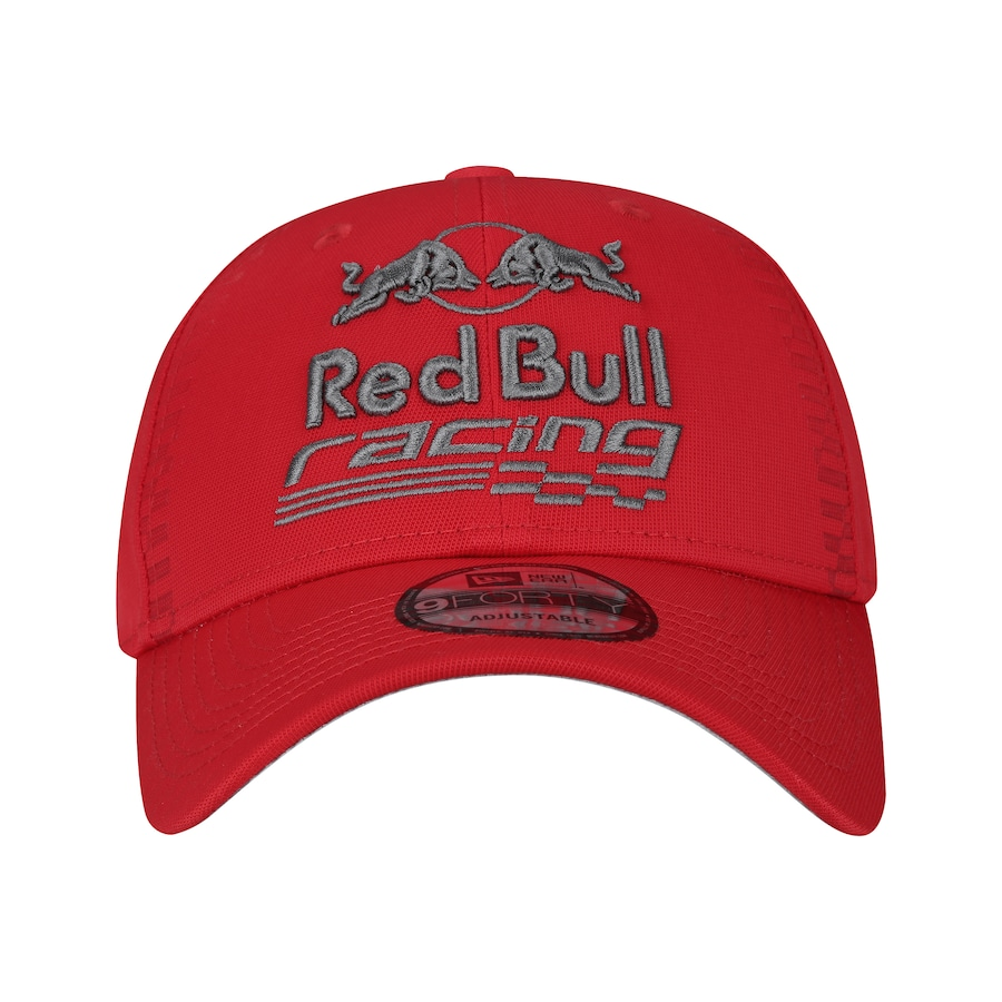 Boné Aba Curva New Era 940 Red Bull Racing SC Bandeira SCA 62bb15dc802