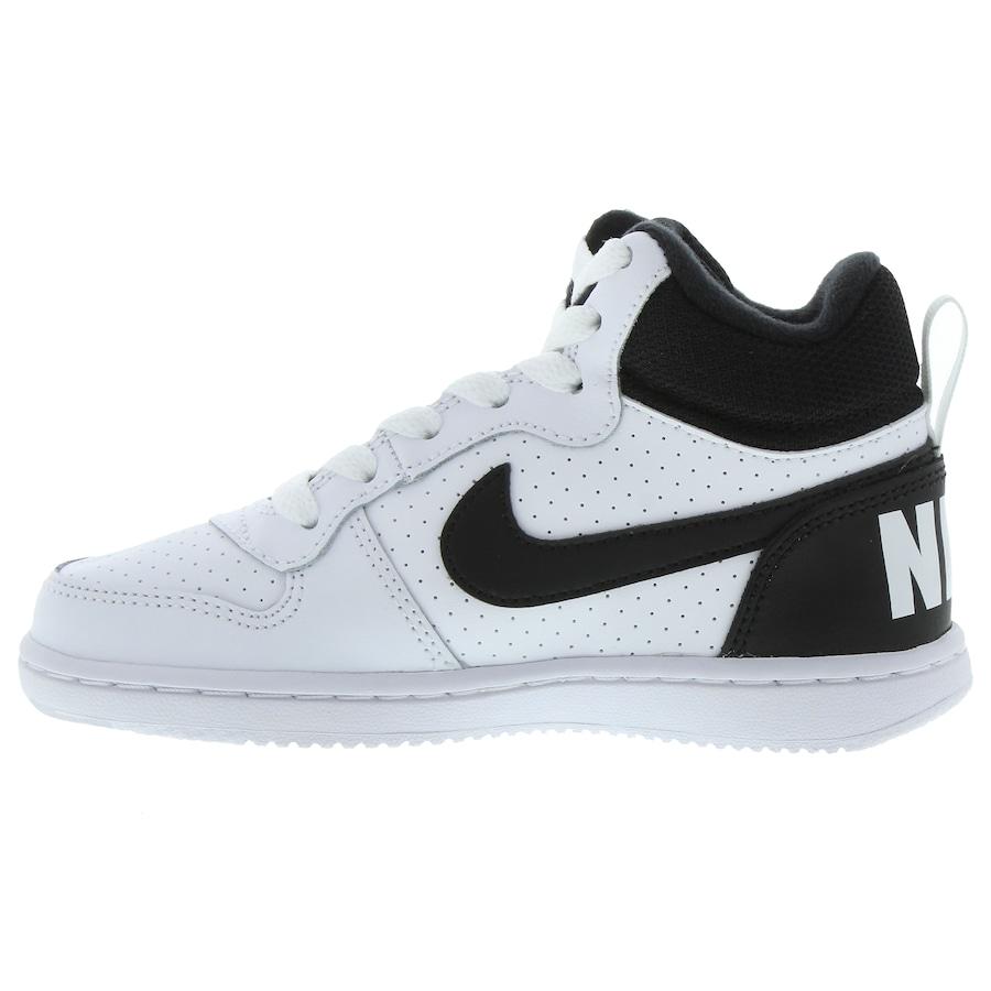 796366aadb9b5 Tênis Cano Alto Nike Court Borough Mid - Infantil