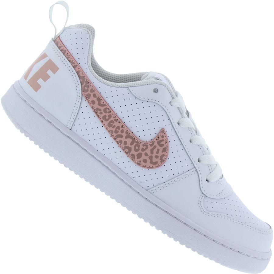 a3b031ebba Tênis Nike Court Borough Low Feminino - Infantil