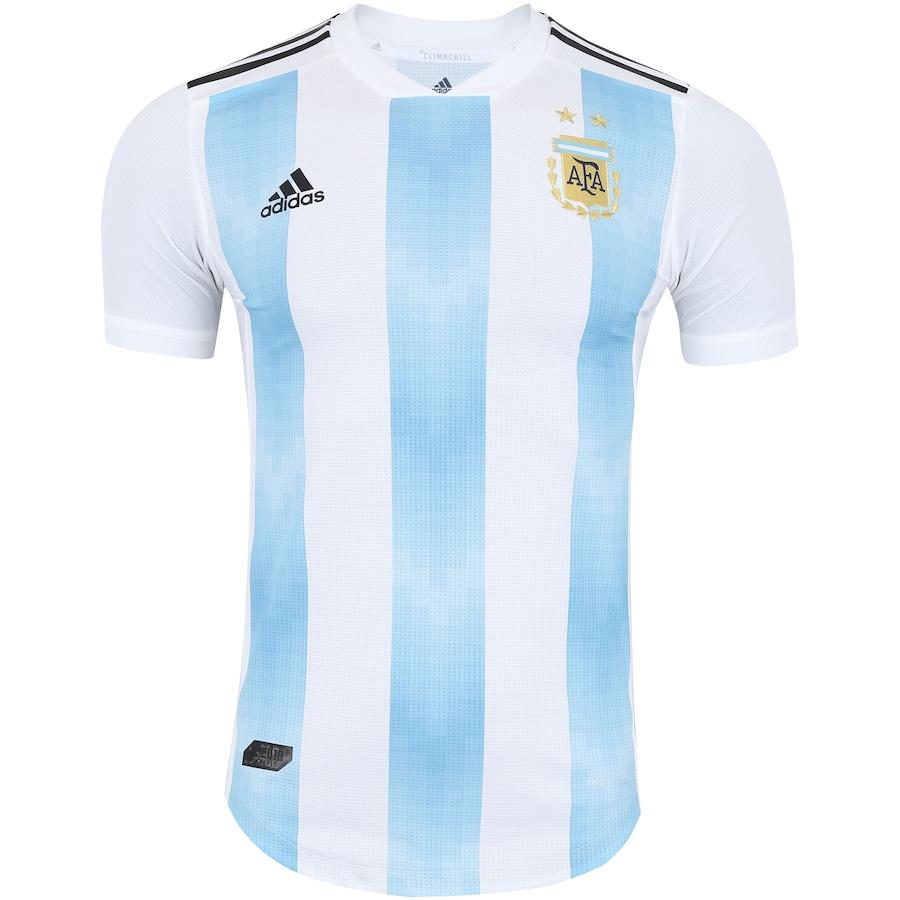 Camisa Argentina I 2018 adidas - Jogador 8763e9680878b