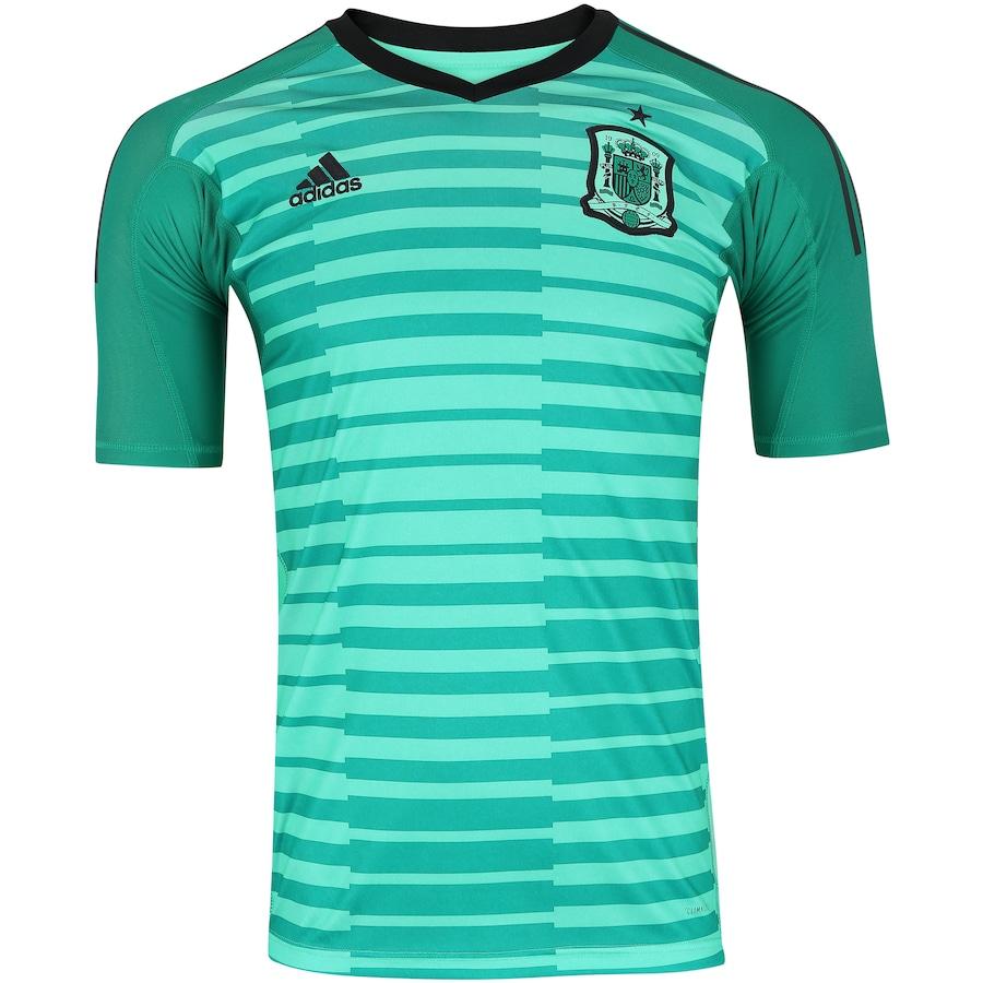 Camisa de Goleiro Espanha 2018 adidas - Masculina 6c5383dc89625