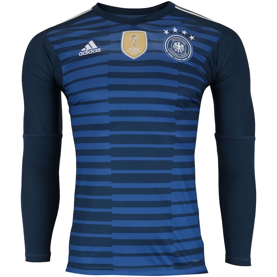 Camisa de Goleiro Alemanha 2018 adidas - Masculina 10965d949458e