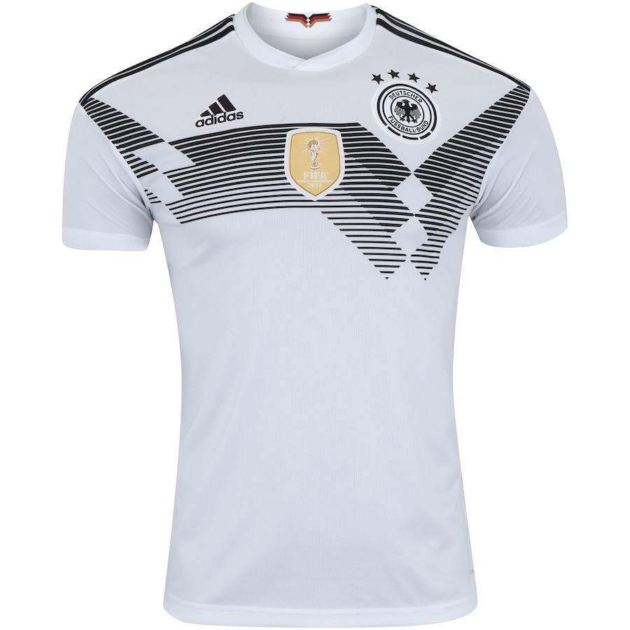 Camisa Alemanha I 2018 adidas - Masculina 432312e55658a