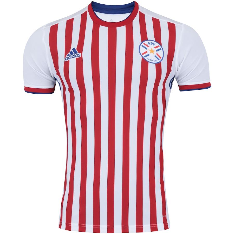 04f7abb9dab86 Camisa Paraguai I 2018 adidas - Masculina
