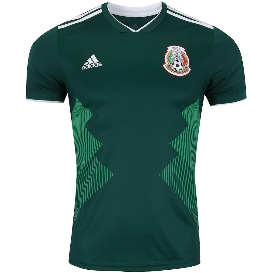 64d0d8884f Camisa México I 2018 adidas - Masculina