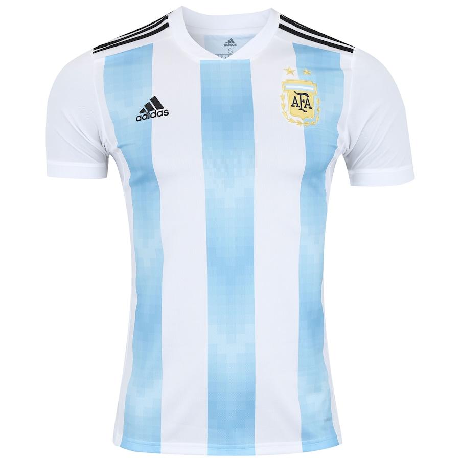 Camisa Argentina I 2018 adidas - Masculina dea42767eb0e9