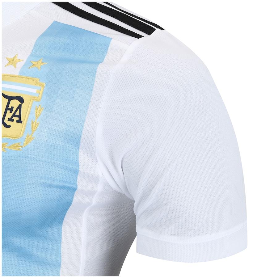 Camisa Argentina I 2018 adidas - Masculina 55297336c8ca8