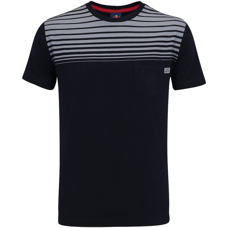 Camiseta Red Bull Racing Striped - Masculina 690d769326a