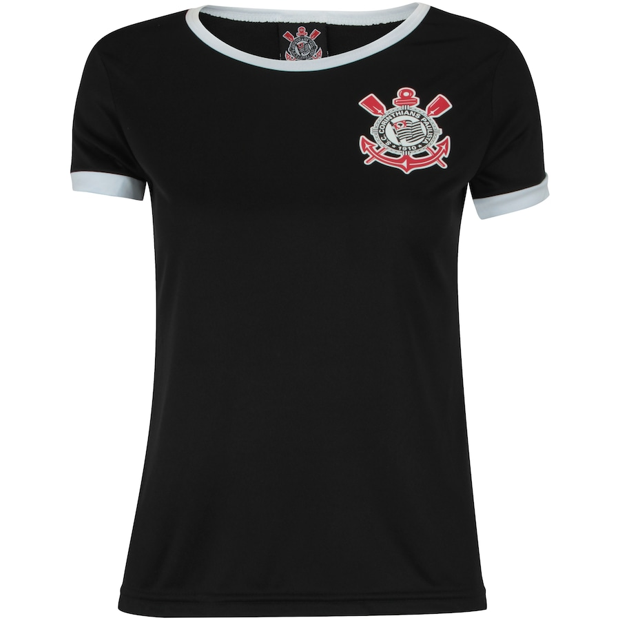 93555ff234 Camiseta Baby Look do Corinthians Basic - Feminina