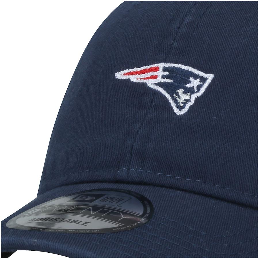 1053d5c97 ... Boné Aba Curva New Era 920 New England Patriots Mini Logo Classic -  Strapback - Adulto ...
