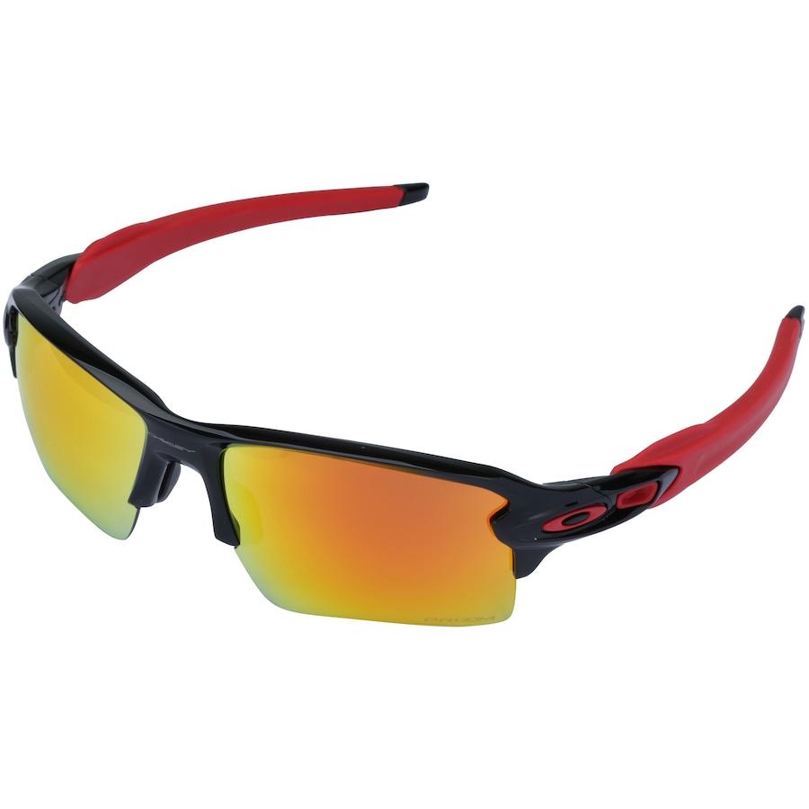 f2360f7d4 Óculos de Sol Oakley Flak 2.0 XL Prizm Ruby - Unissex