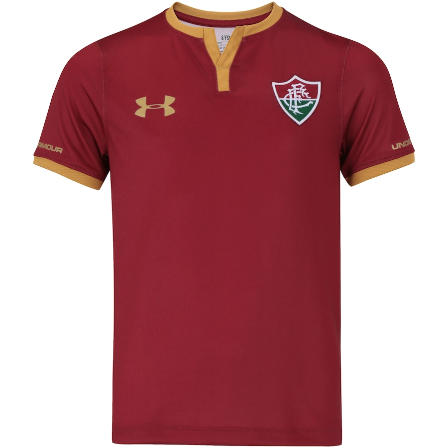 Camisa do Fluminense III 2017 Under Armour - Infantil db382e2293dff