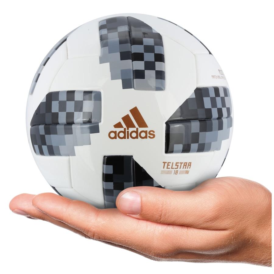 Minibola de Futebol de Campo Telstar Oficial Copa do Mundo 4e27d37e993c4