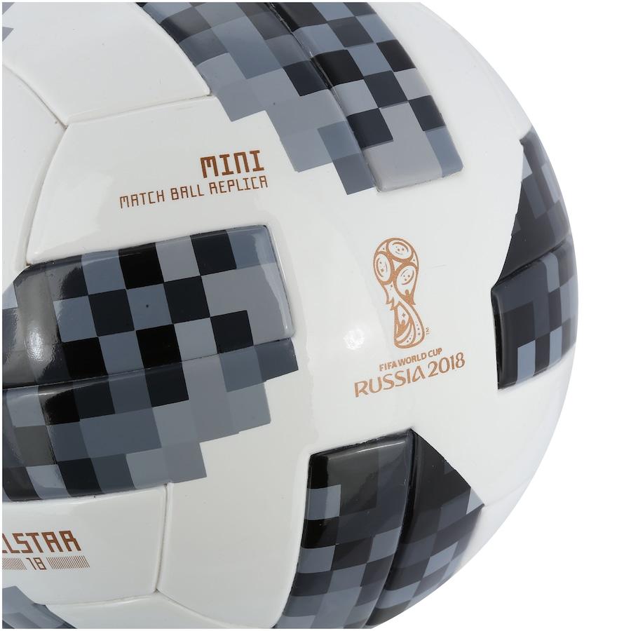 ... Minibola de Futebol de Campo Telstar Oficial Copa do Mundo FIFA 2018  adidas ... 3a2ad678a5ff2