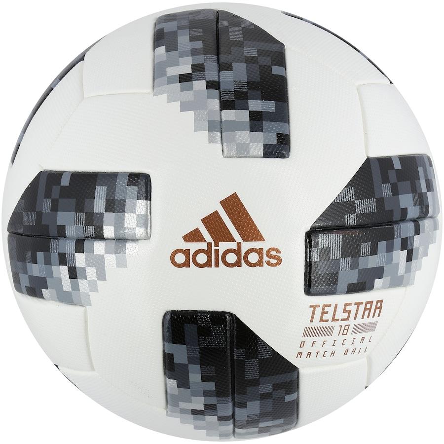 8fd9907b4c Bola de Futebol de Campo Telstar Oficial Copa do Mundo FIFA 2018 adidas OMB