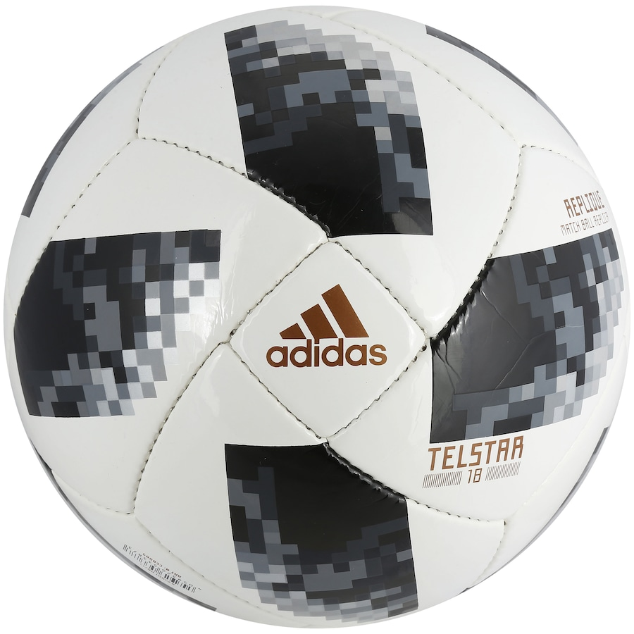 9edeb4cec2 Bola de Futebol de Campo Telstar Oficial Copa do Mundo FIFA 2018 adidas  Replique