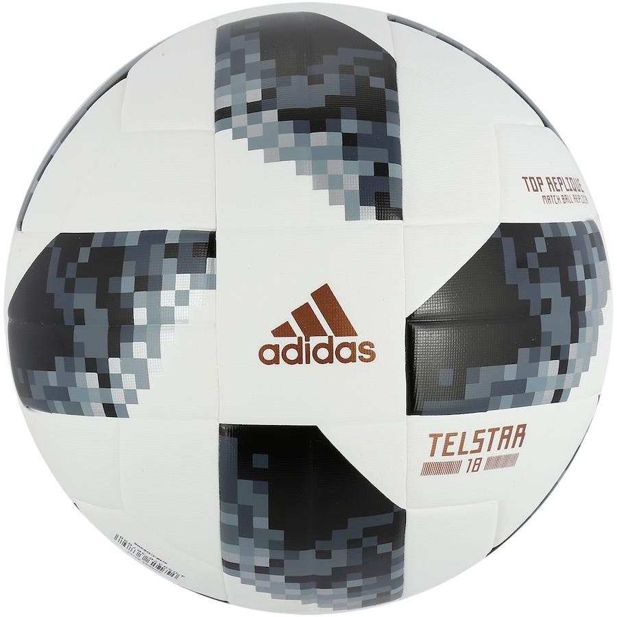 Bola Campo Oficial Copa do Mundo FIFA 2018 adidas Replique 5552e3d8b0b5d