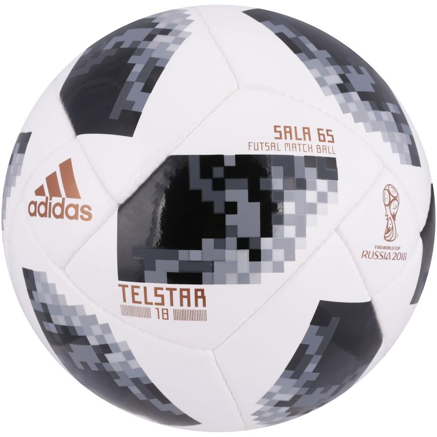 Bola Futsal Telstar Oficial Copa do Mundo FIFA 2018 adidas 3e6231df740e2