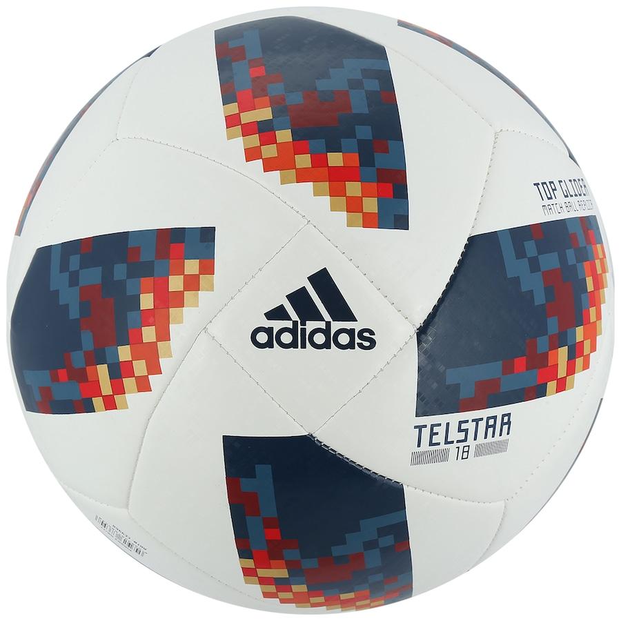 Bola de Futebol de Campo Rússia Telstar Oficial Copa do Mundo FIFA 2018  adidas Top Glider ... 93f685f23acfd