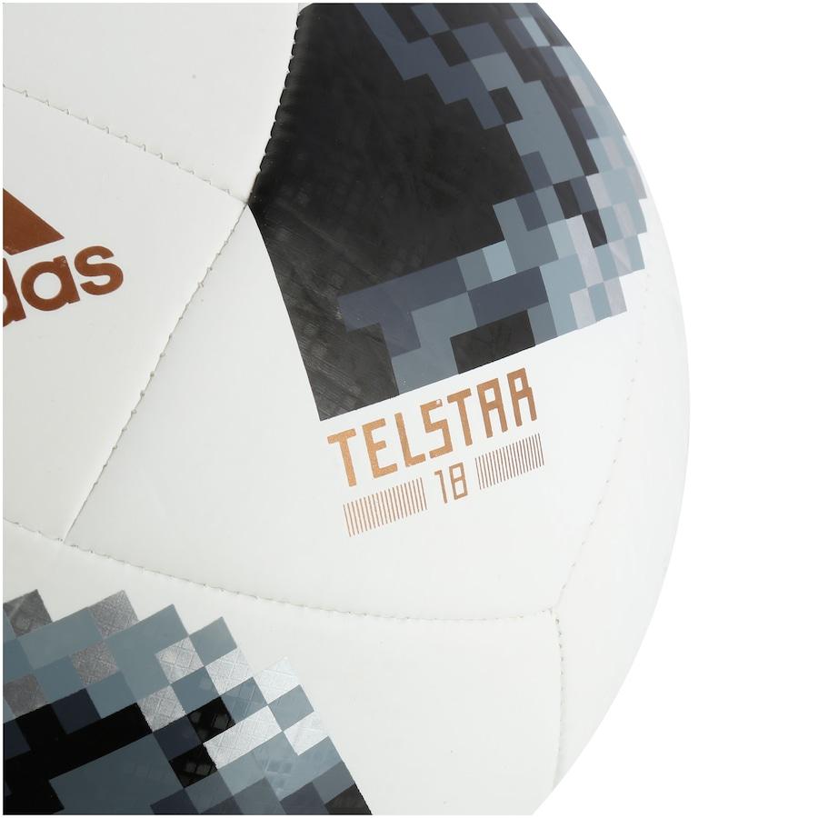 ... Bola de Futebol de Campo Telstar Oficial Copa do Mundo FIFA 2018 adidas  Top Glider d3f170c3c4d08