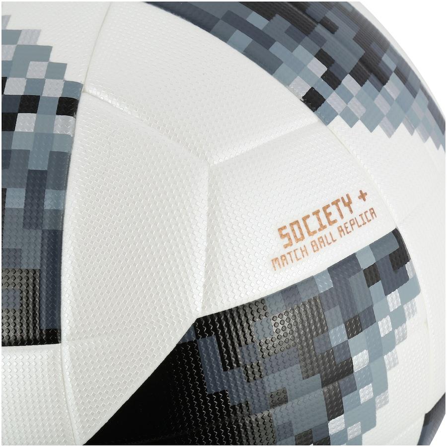 ... Bola Society Telstar Oficial Copa do Mundo FIFA 2018 adidas Top c2f19c32c55ac