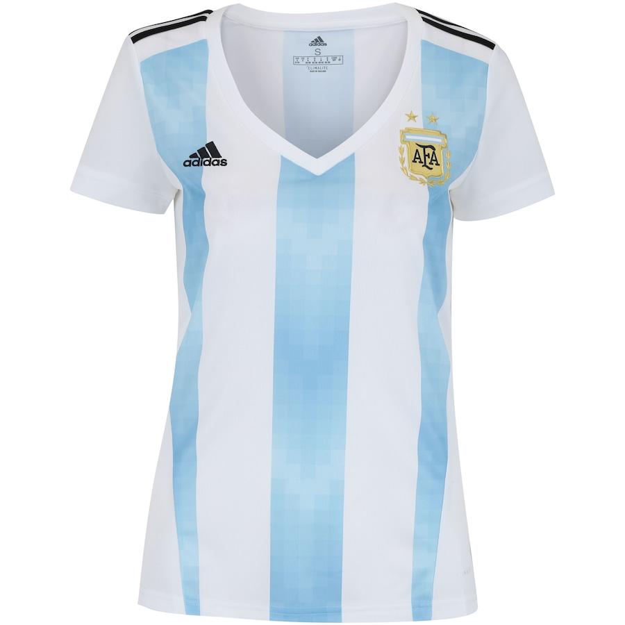 Camisa Argentina I 2018 adidas - Feminina 31ba4ba3560b7