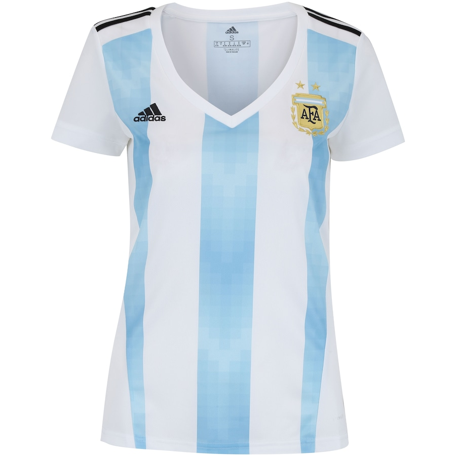 25d44ca330 Camisa Argentina I 2018 adidas - Feminina