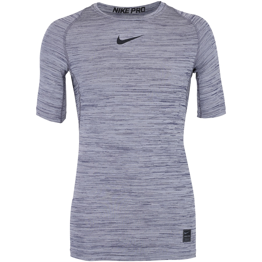 35736f514ab Camiseta de Compressão Nike Pro SS Heather - Masculina