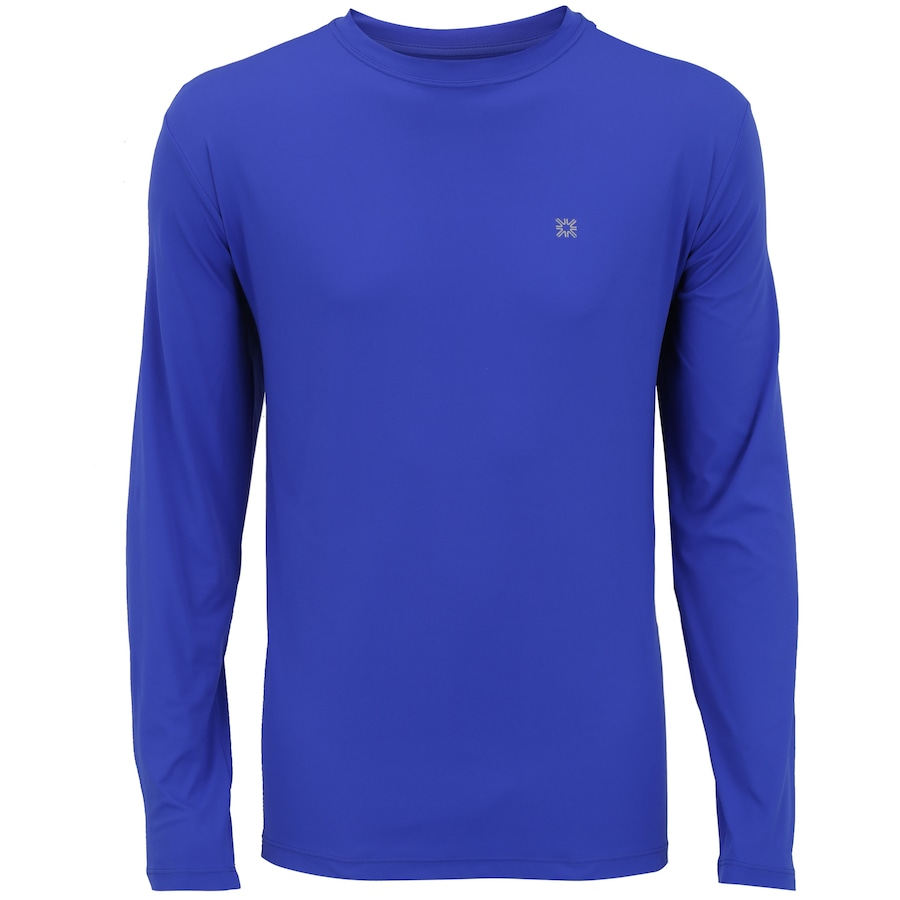 Camiseta Manga Longa com Proteção Solar UV Line CT Esporte 42a814dc65fd0