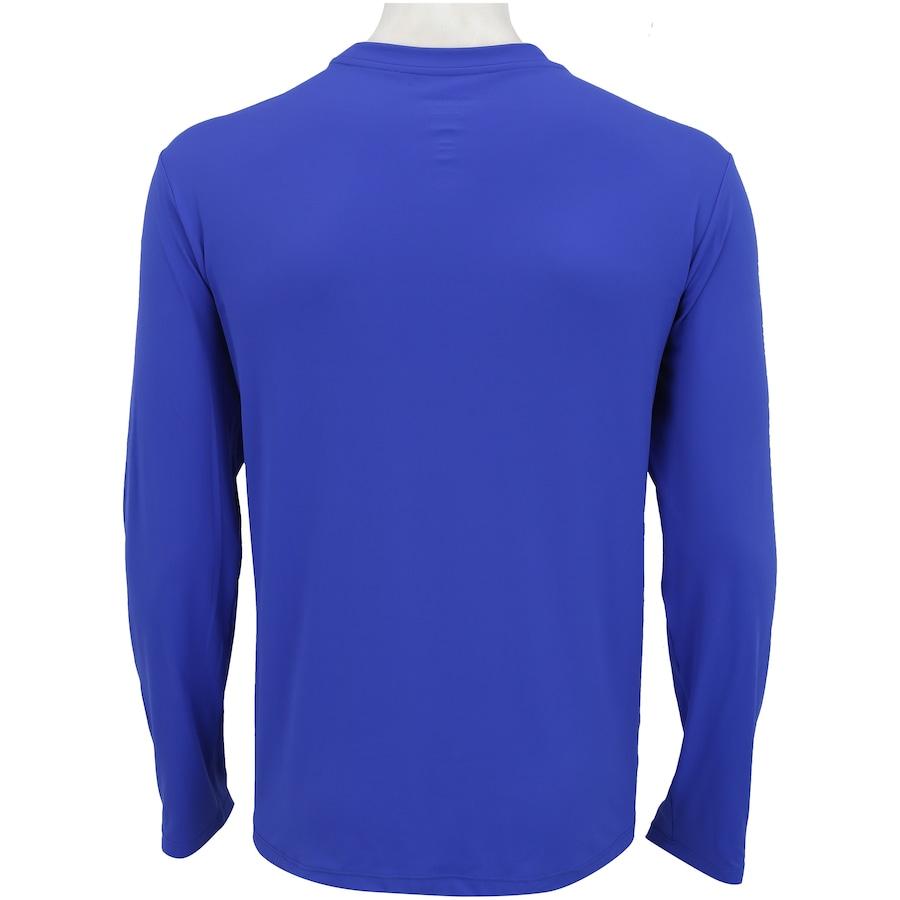 ... Camiseta Manga Longa com Proteção Solar UV Line CT Esporte BR -  Masculina ... d87b7fc50e