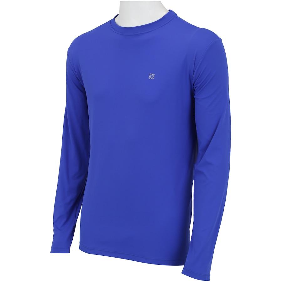 ... Camiseta Manga Longa com Proteção Solar UV Line CT Esporte BR -  Masculina ... 6db7f670e579a