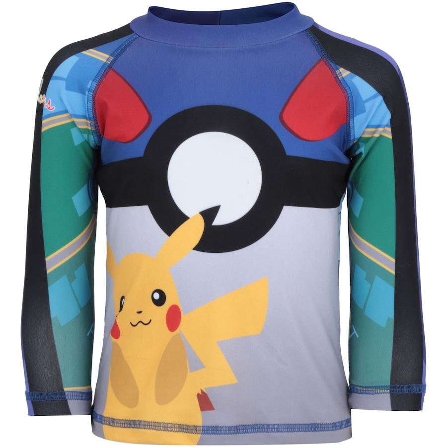Camiseta Manga Longa com Proteção Solar UV Swim Colors Poke 9f3b5fcf2fa