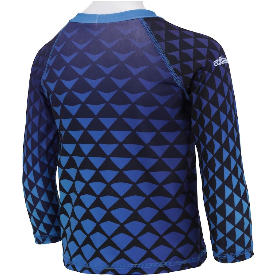 ... Camiseta Manga Longa com Proteção Solar UV Swim Colors Geo Colors 9 -  Infantil 252a8a59d60