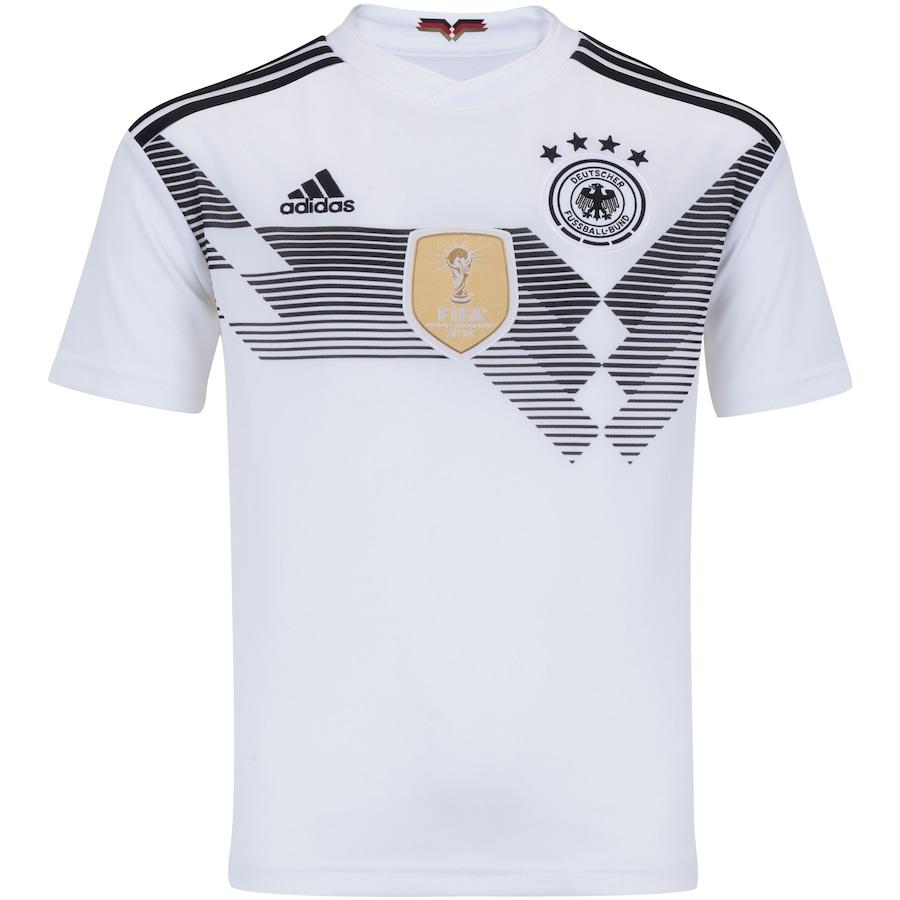 dae2699ba63f8 Camisa Alemanha I 2018 adidas - Infantil