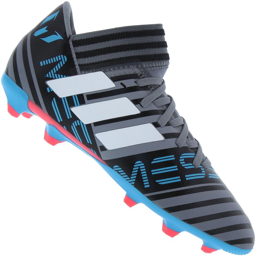 331054e0c3 Chuteira de Campo adidas Nemeziz Messi 17.3 FG - Infantil