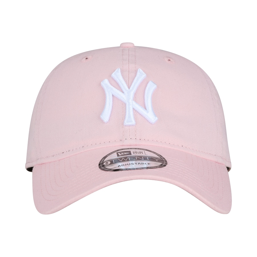 05832cec1 Boné Aba Curva New Era 920 New York Yankees ST Pastels Rosa