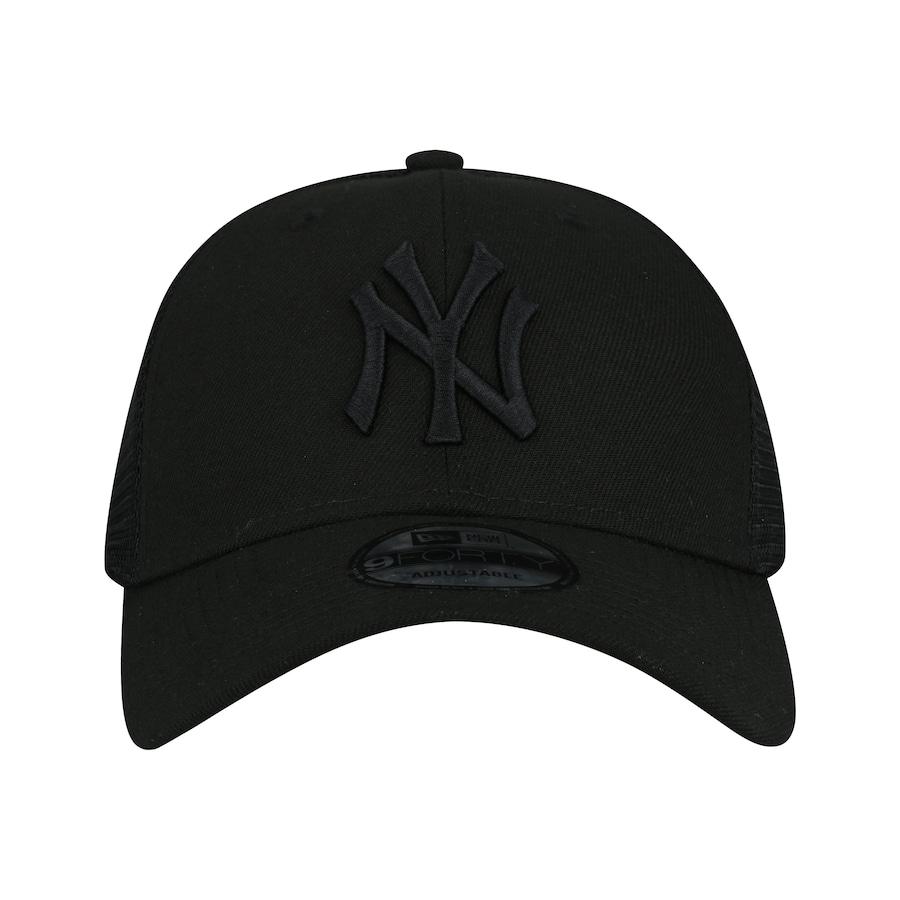 Boné Aba Curva New Era 940 New York Yankees SN Preto - Snap 3e6ab8df7c8