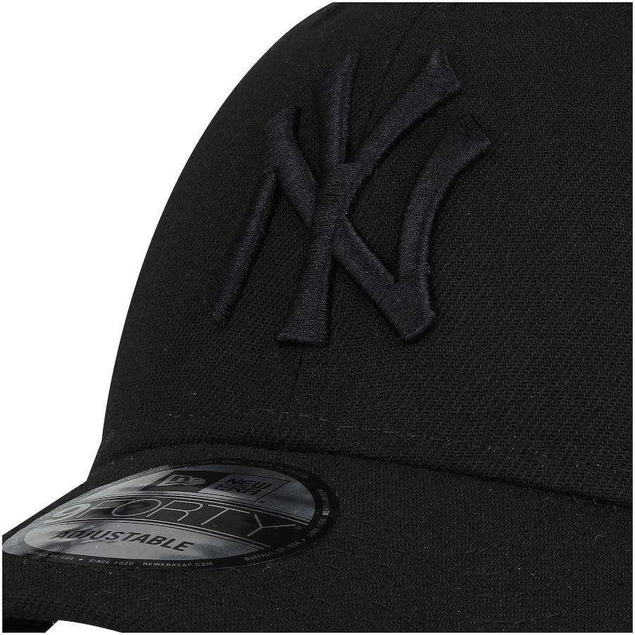... Boné Aba Curva New Era 940 New York Yankees SN Preto - Snapback -  Trucker ... 253501fe398