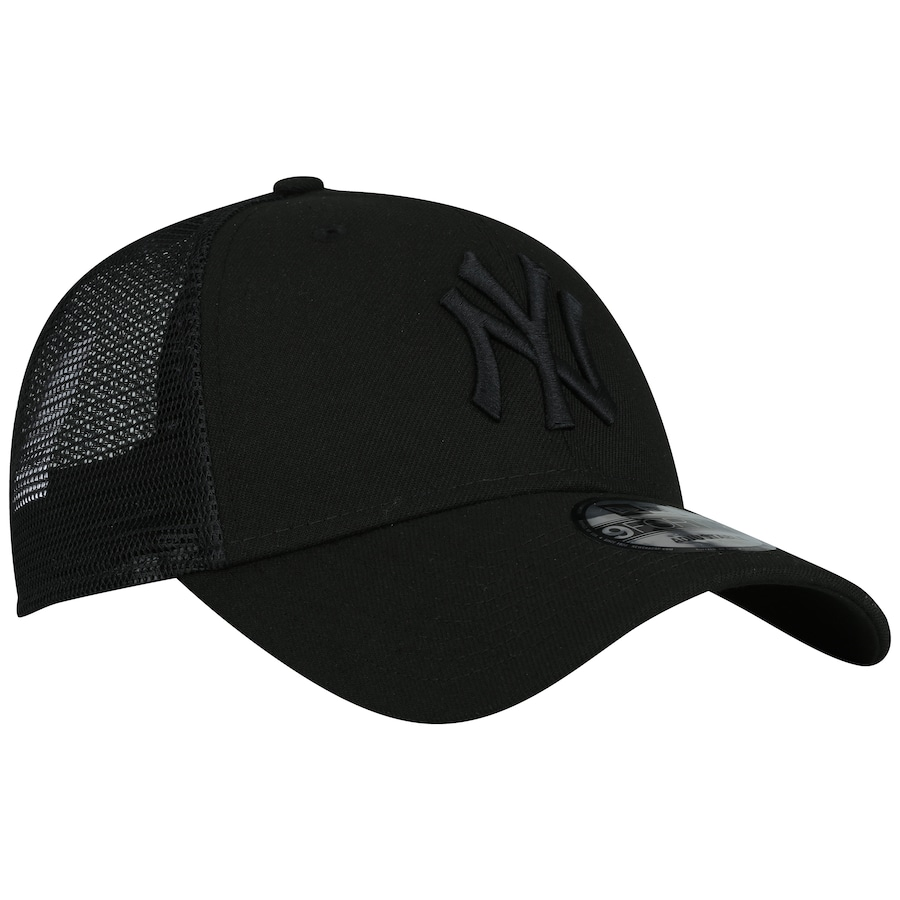 ... Boné Aba Curva New Era 940 New York Yankees SN Preto - Snapback -  Trucker ... 3f4ba343901