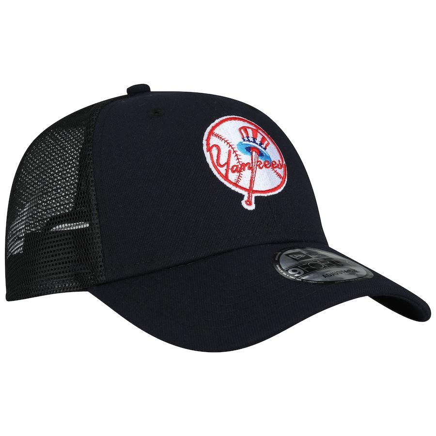 620d5f402 ... Boné Aba Curva New Era 940 New York Yankees SN Azul Escuro - Snapback -  Trucker ...