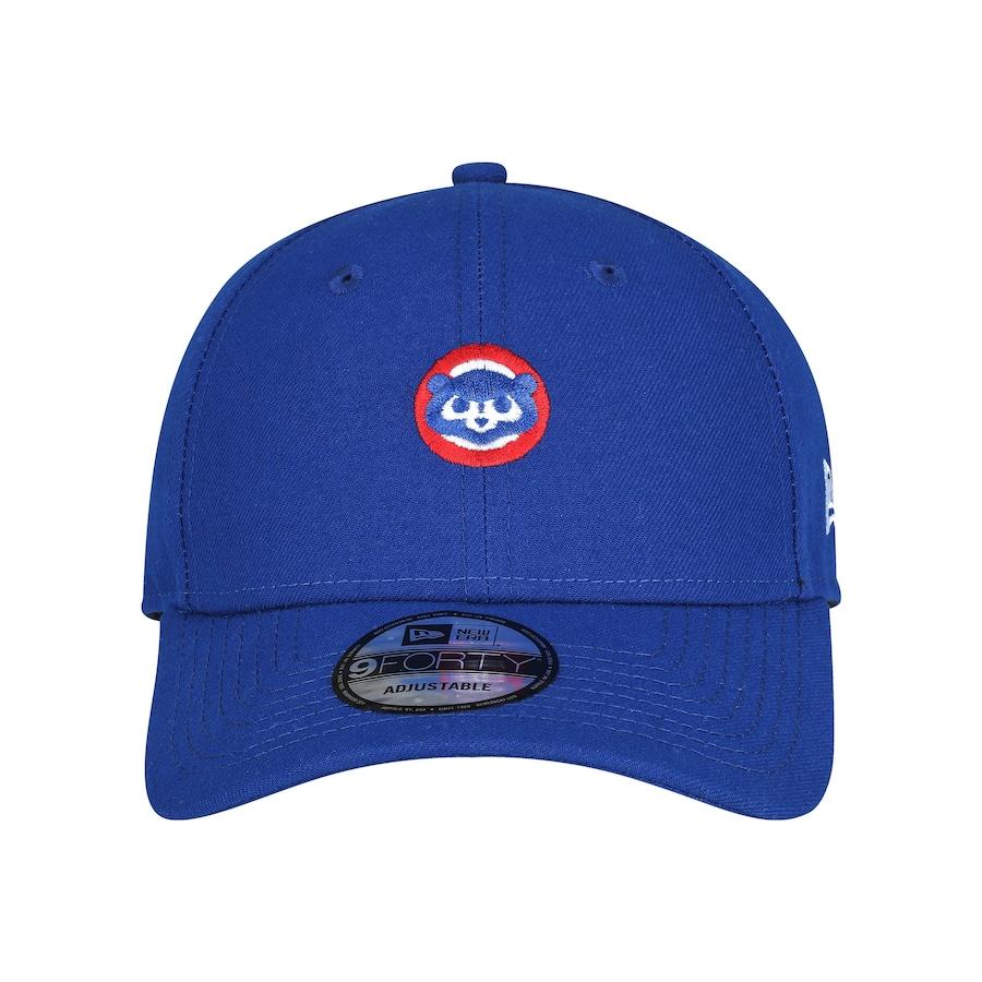 Boné Aba Curva New Era 940 Chicago Cubs SN Micro Logo a9b881a4594