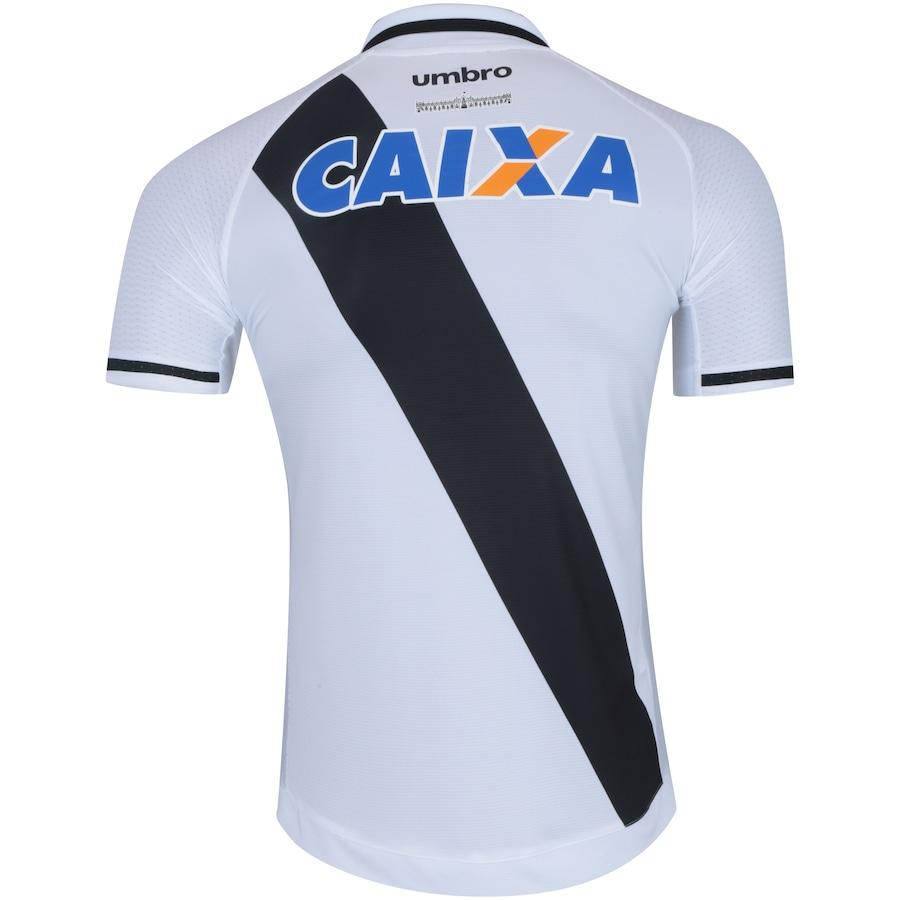 ... Camisa do Vasco da Gama II 2017 Umbro com Patrocínio - Masculina ... 49a654dd3caa1