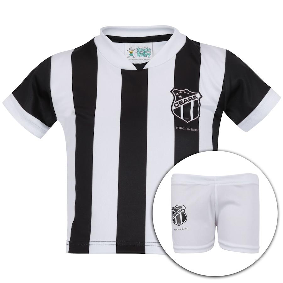 741852293de51 Kit Uniforme Futebol Ceará para Bebê - Infantil
