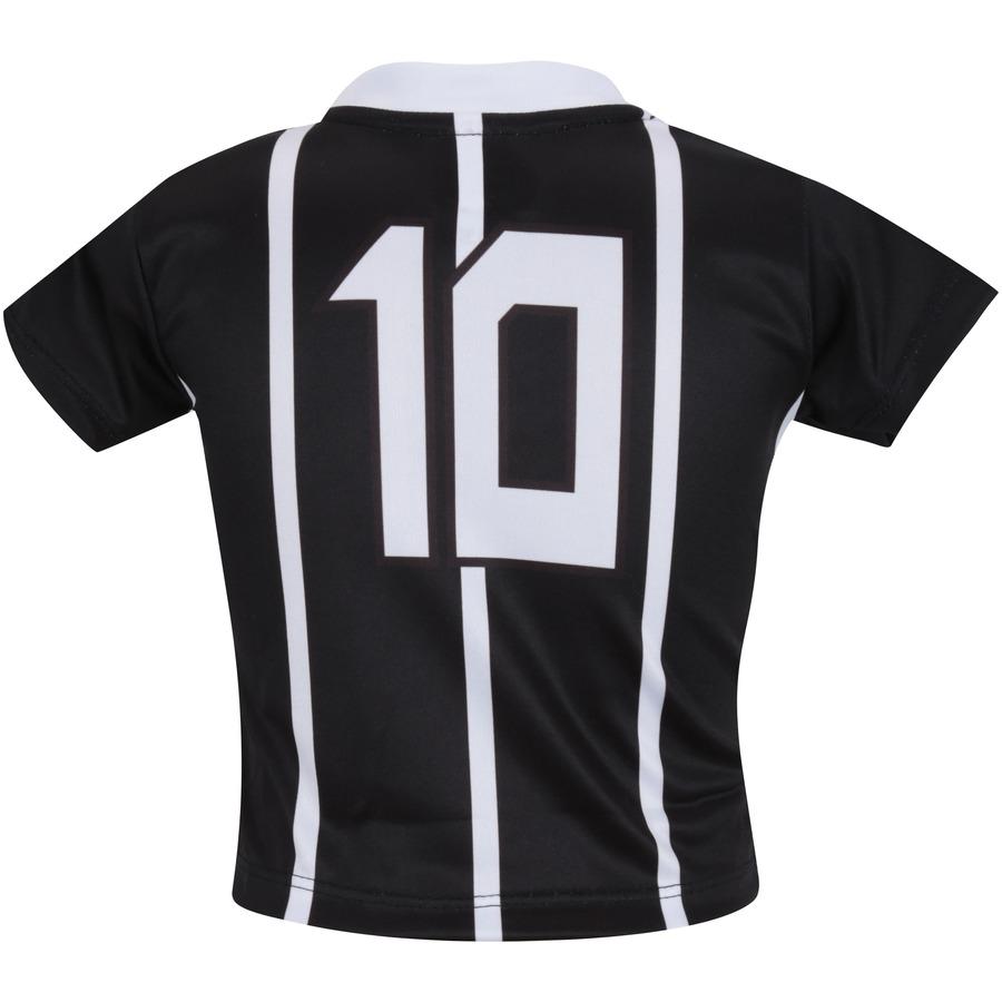 ... Kit de Uniforme de Futebol do Corinthians para Bebê  Camisa + Calção ... 38a2c4e83a5d5