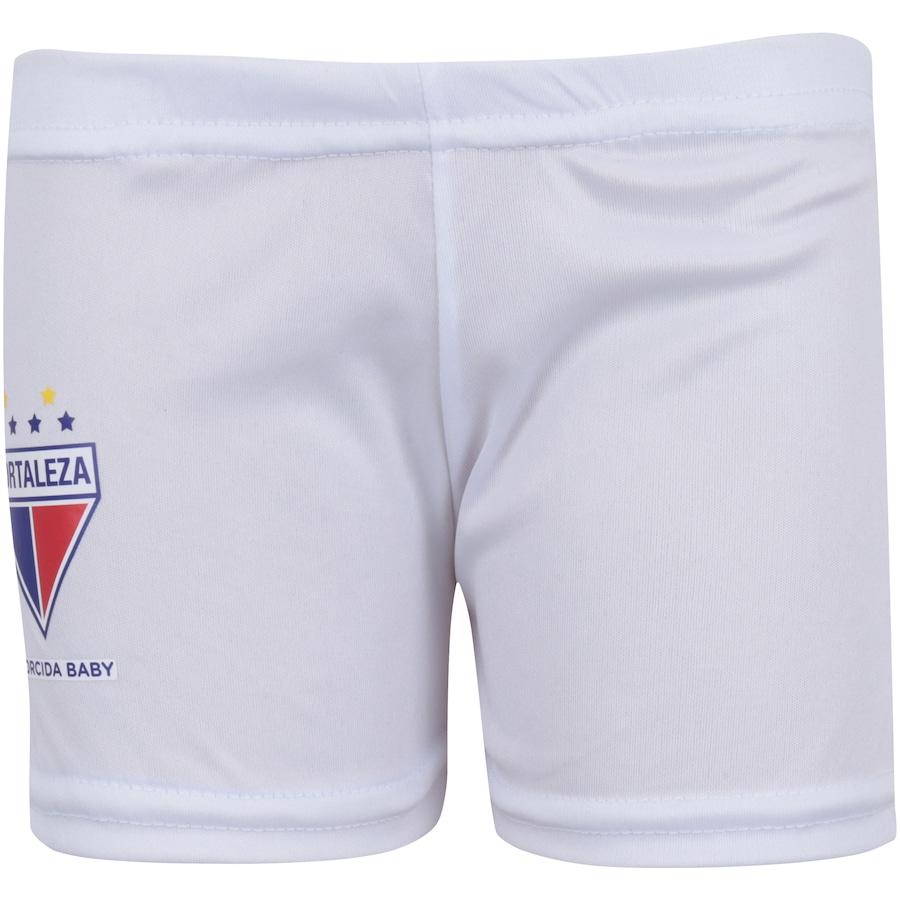 0f5deaaf96 ... Infantil Kit de Uniforme de Futebol do Fortaleza para Bebê  Camisa +  Calção ...