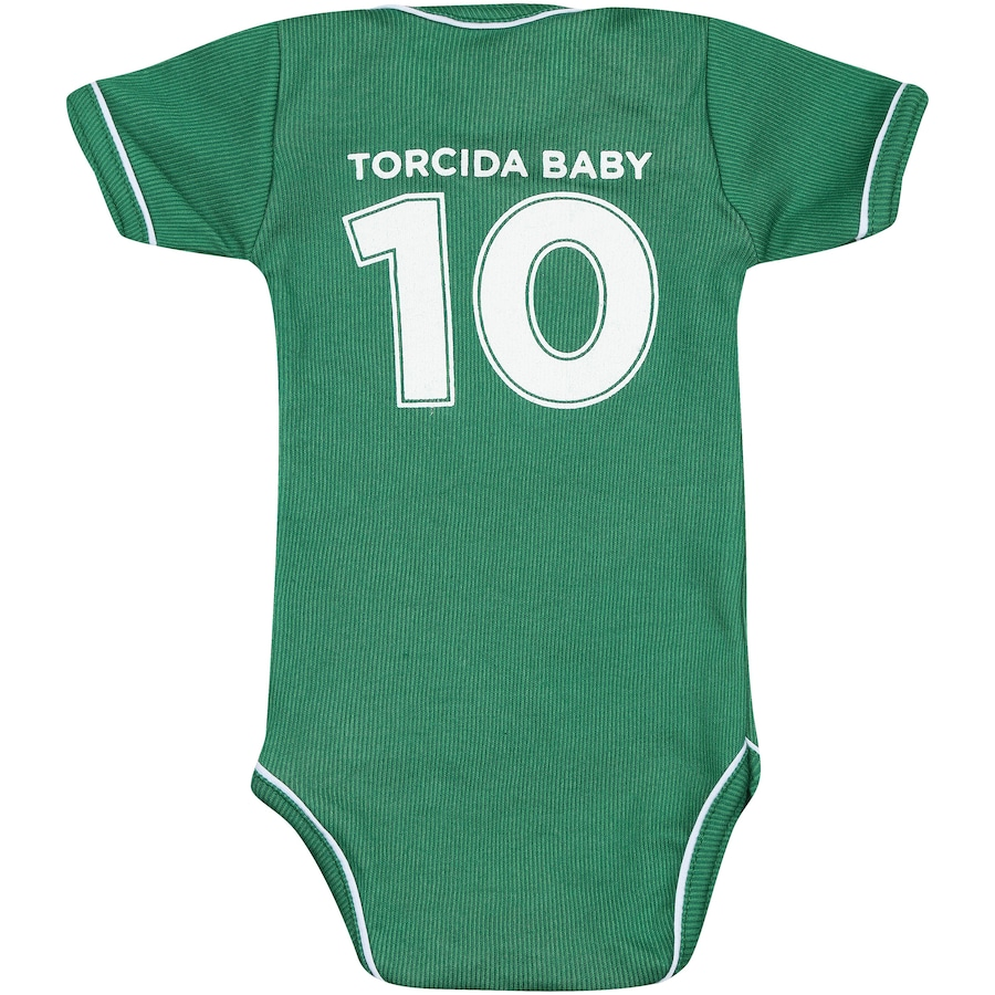 ... Kit de Uniforme de Futebol do Guarani para Bebê  Body + Pantufa -  Infantil ... caad5452cc95b