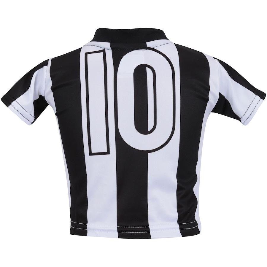 ... Infantil Kit de Uniforme de Futebol do Santos para Bebê  Camisa +  Calção ... d72ad28cd1b30