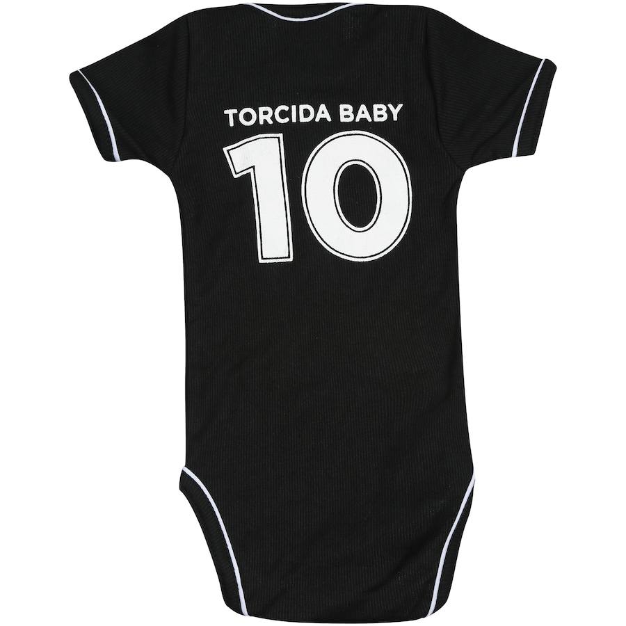 ... Kit de Uniforme de Futebol do Vasco da Gama para Bebê  Body + Pantufa  ... 5b4da16464f38