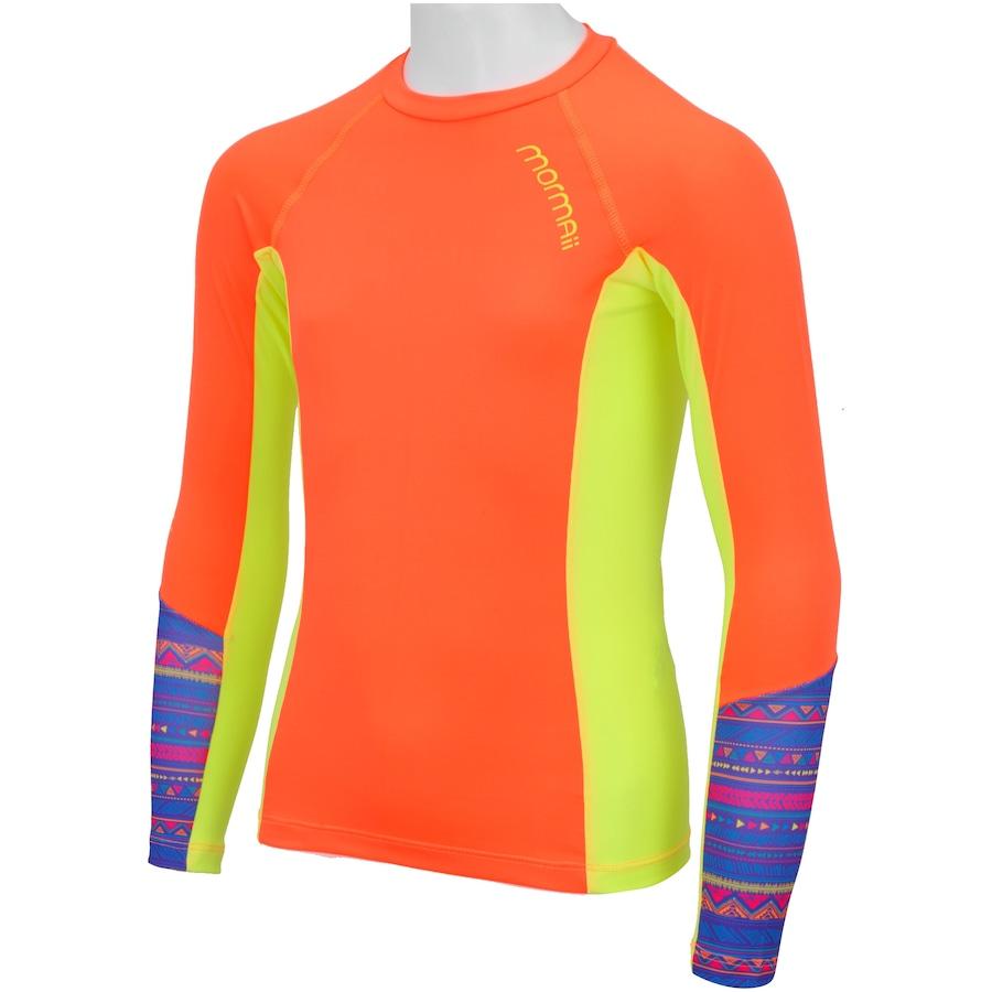 87828b5733 ... Camiseta Manga Longa com Proteção Solar UV Mormaii Dry Action Feminina  ...
