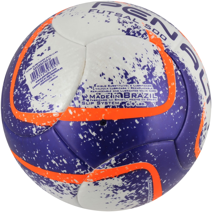 7e4c07dde4 Bola de Futsal Penalty RX 500 Fusion VIII